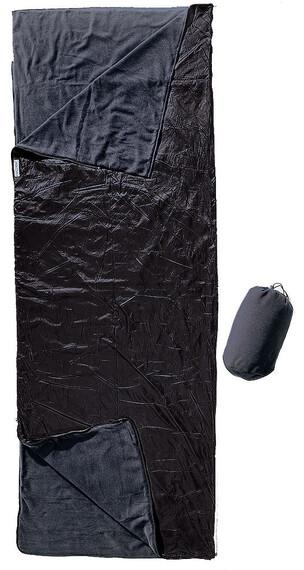 Cocoon Outdoor Blanket/Sleeping Bag fleece black/slate blue